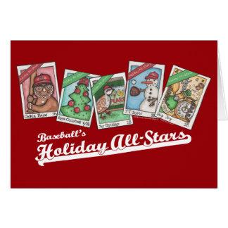 Cartão Todo-Estrelas do feriado