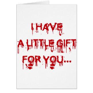 Cartão Todos ama o sangue