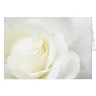 Cartão Todos ocasionam o rosa branco