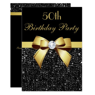 Cartão Todos os Sequins do falso do aniversário da idade