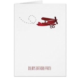 Cartão Tome o vôo