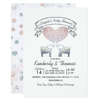 Cartão Toneladas do casal neutro do género do amor do chá