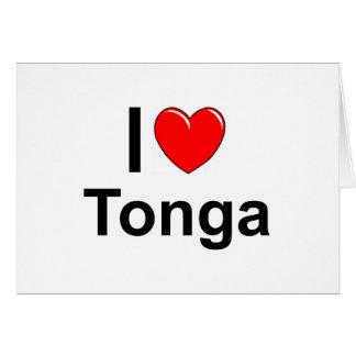 Cartão Tonga