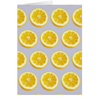 Cartão Torção do limão