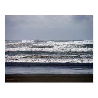 Cartão tormentoso dos mares