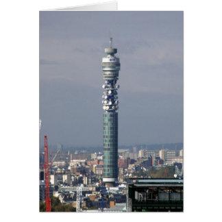 Cartão Torre de BT, Londres, Inglaterra