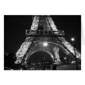 Cartão Torre de Eifel