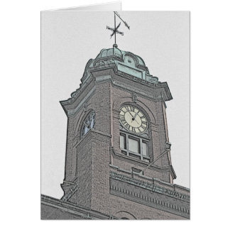 Cartão Torre de pulso de disparo de Nova Inglaterra