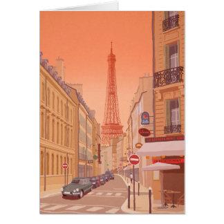 Cartão Torre Eiffel Paris