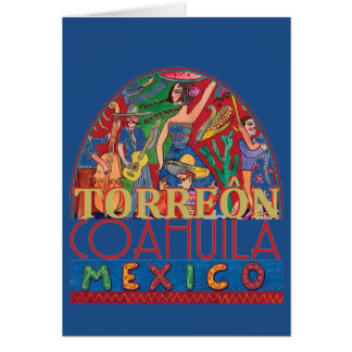 Cartão TORREON México