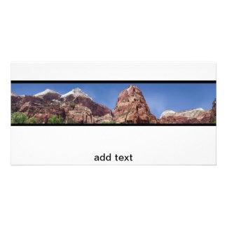 Cartão Torres do Virgin panorâmico