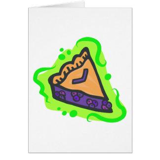 Cartão Torta de mirtilo