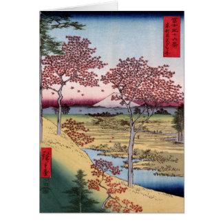 Cartão Tōto Meguro Yuhhigaoka, Ando Hiroshige