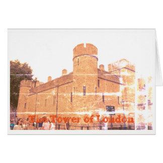 Cartão Tower of Londres