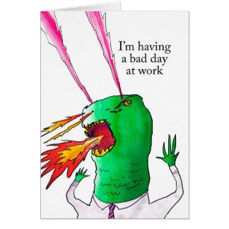 Cartão Trabalhador de Lazer Dino