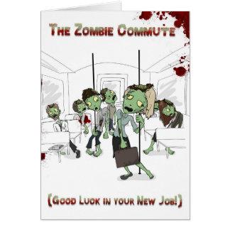 Cartão Trabalho novo do zombi