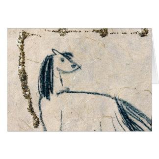 Cartão Trabalhos artísticos originais por miúdos do CCA -