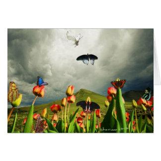 Cartão Traças & tulipas