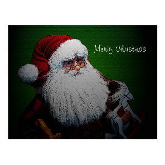 Cartão tradicional de Papai Noel