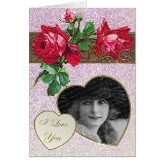 Cartão tradicional do dia das mães