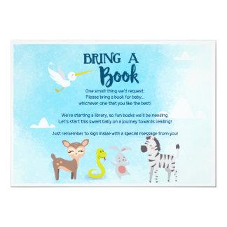 Cartão Traga um livro - a arca de Noah do jardim
