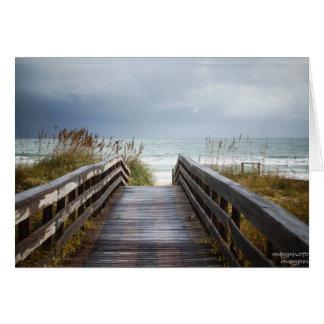 Cartão Trajeto ao mar em Florida
