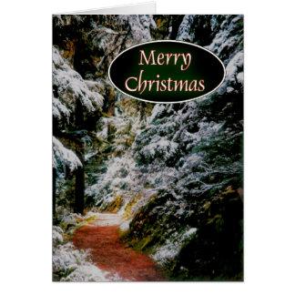 Cartão Trajeto ao Natal
