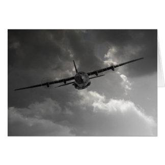 Cartão Transporte do RAF C-130