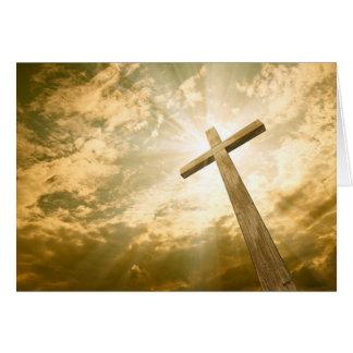 Cartão transversal religioso