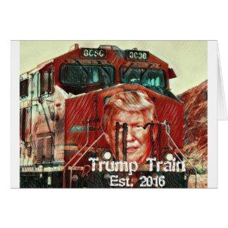 Cartão Trem… Est do trunfo. 2016