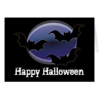 Cartão Três bastões:: O Dia das Bruxas feliz