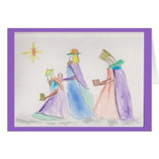 Cartão Três reis