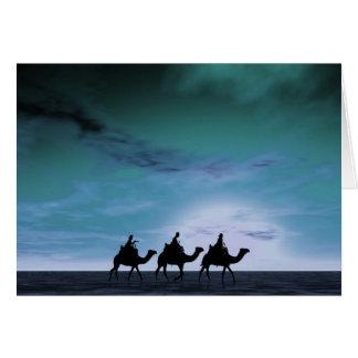 Cartão Três reis Por do sol 3
