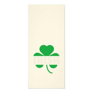 Cartão Trevo irlandês Z2n9r do cloverleaf