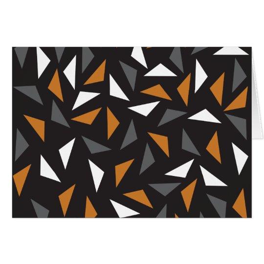 Cartão Triângulos animados