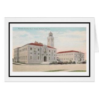 Cartão Tribunal de Sarasota County