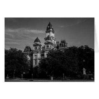 Cartão - tribunal de Texas
