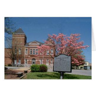 Cartão Tribunal do Condado de Warren