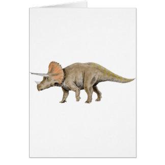 Cartão triceratops2