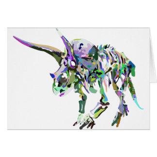 Cartão triceratops4