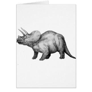 Cartão triceratops5
