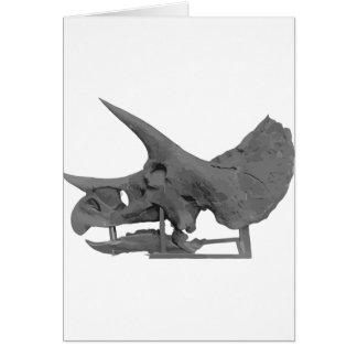 Cartão Triceratopsskull