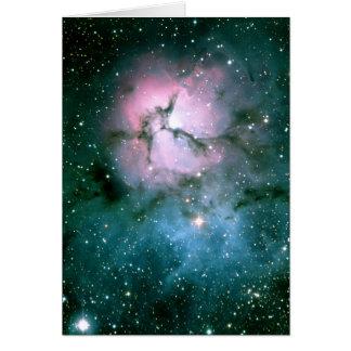 Cartão Trifid da nebulosa
