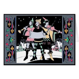 Cartão Trio Colorway um de Caroling
