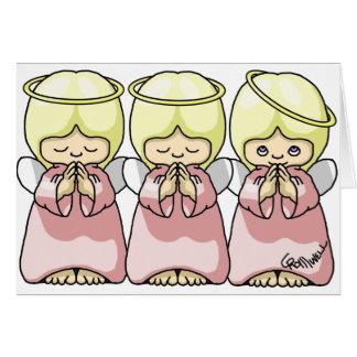 Cartão Trio do anjo