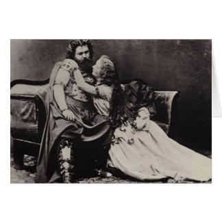 Cartão Tristan e Isolde