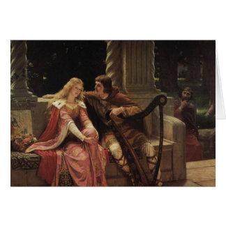 Cartão Tristan e Isolde, Edmund Blair Leighton, 1902