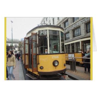 Cartão Trole, Milão, Italia