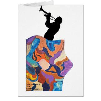 Cartão Trombone da cauda