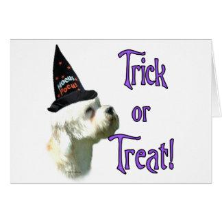 Cartão Truque de Dandie Dinmont Terrier